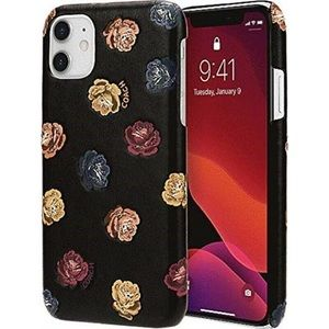 Coach Printed Leather Slim Wrap Case for iPhone 11